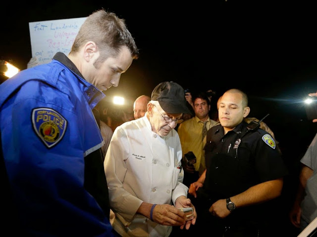 A 90 Year Old Man and 2 Church Ministers Arrested for Feeding the Homeless.