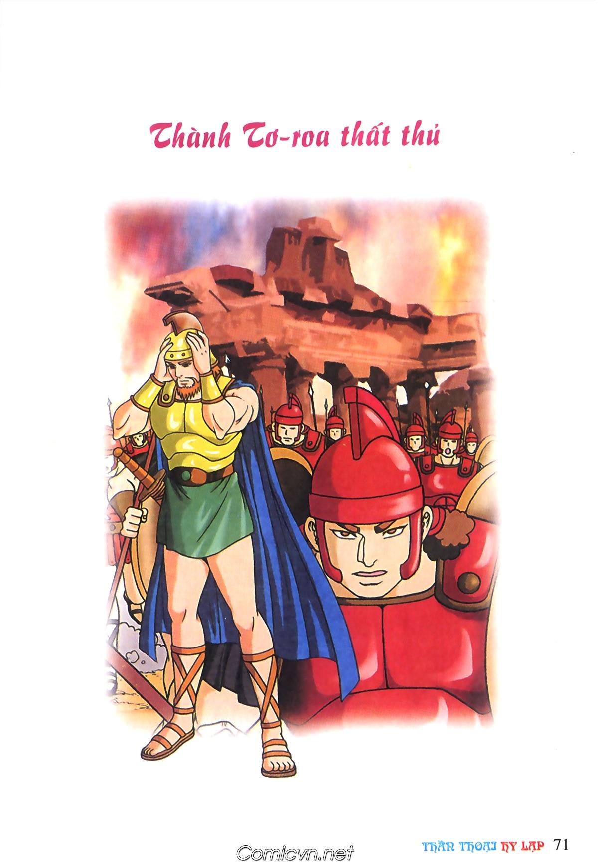 Thần Thoại Hy Lạp Màu - Chapter 69: Thành Troy thất thủ - Pic 1