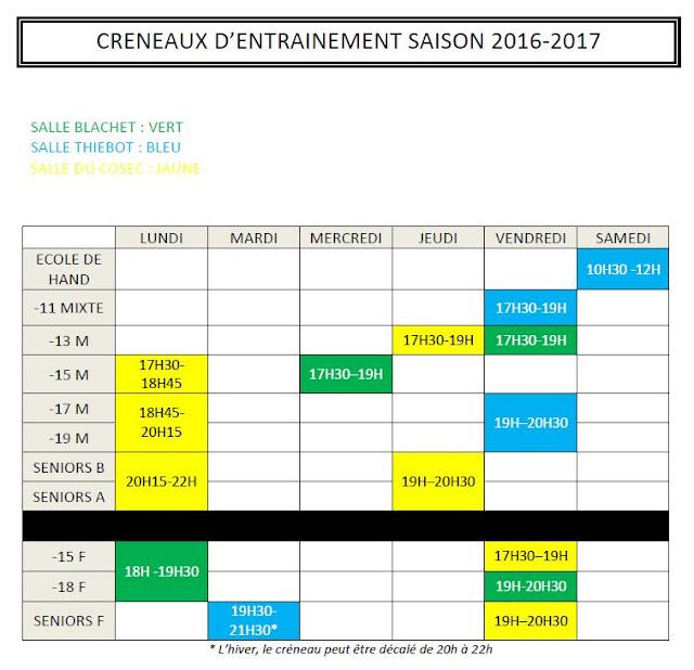 Entente port bayeux bessin handball cr neaux d 39 entrainement for Intersport cherbourg