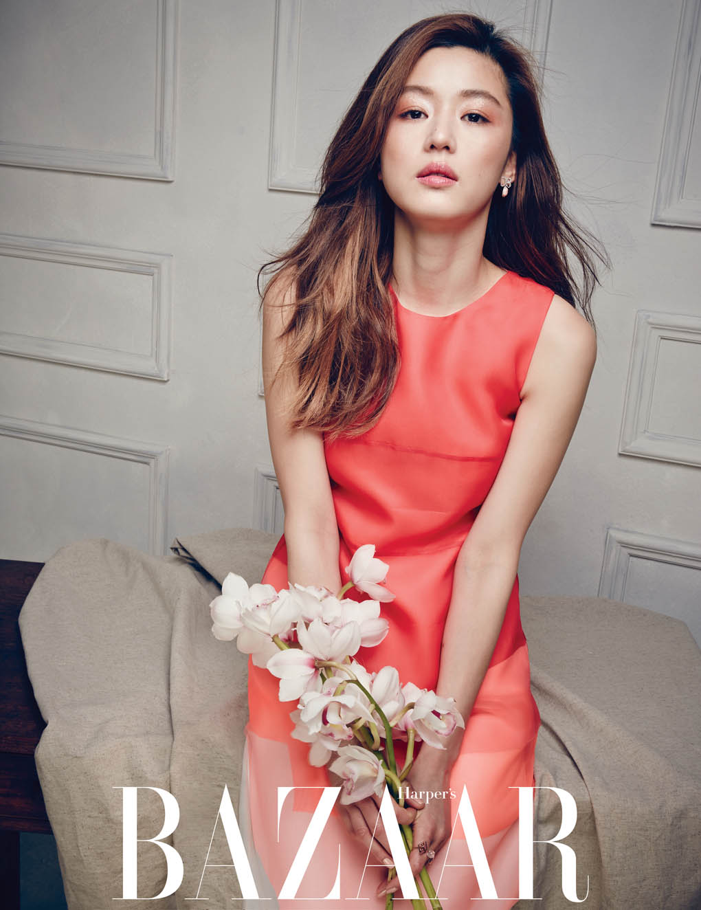 Jeon Ji Hyun Harper's Bazaar Korea April 2014