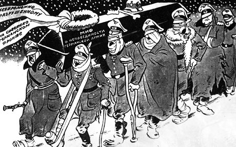ww2 Russian Cartoonist BORIS YEFIMOV battle moscow 1941