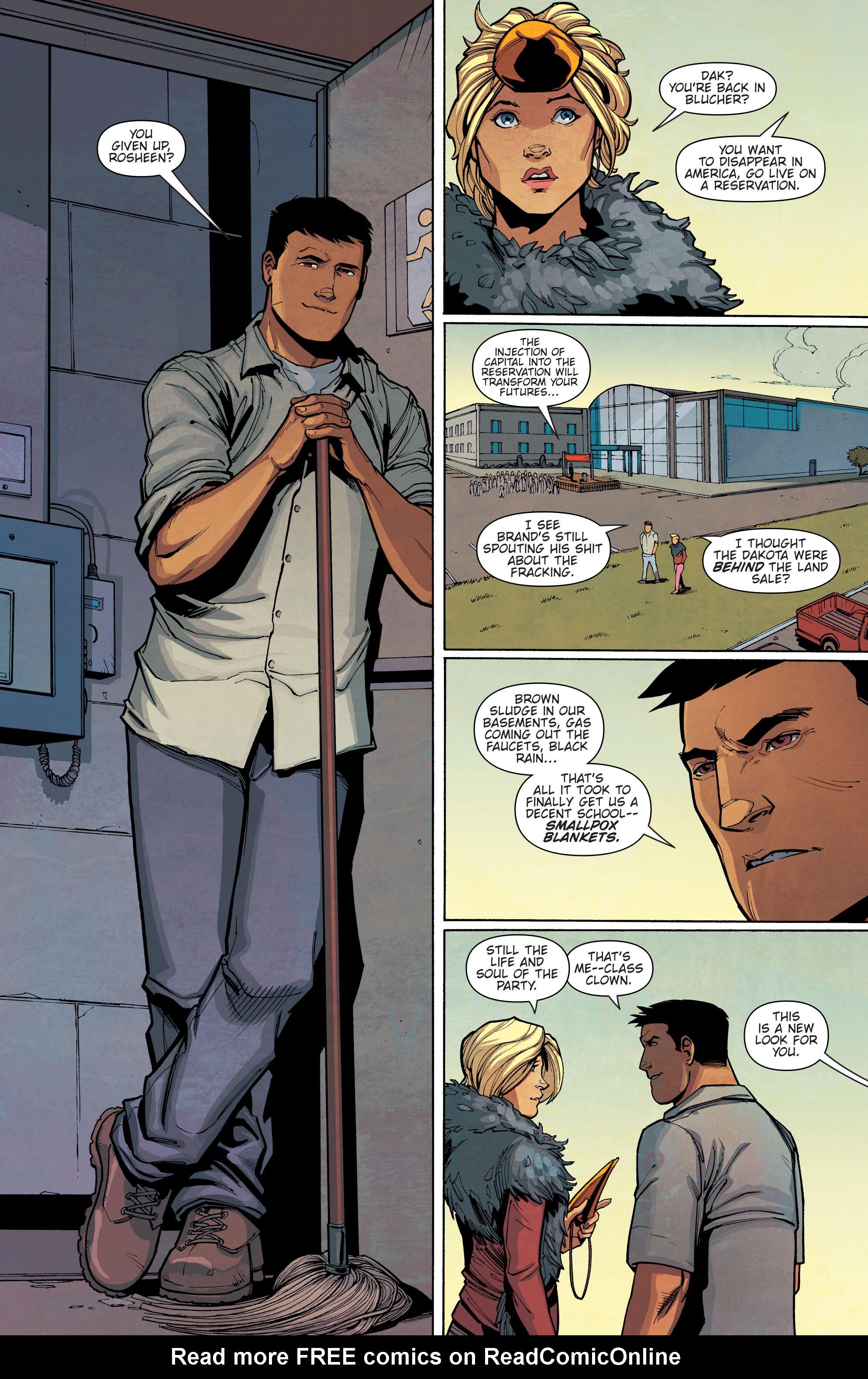 Read online Slash & Burn comic -  Issue #4 - 8