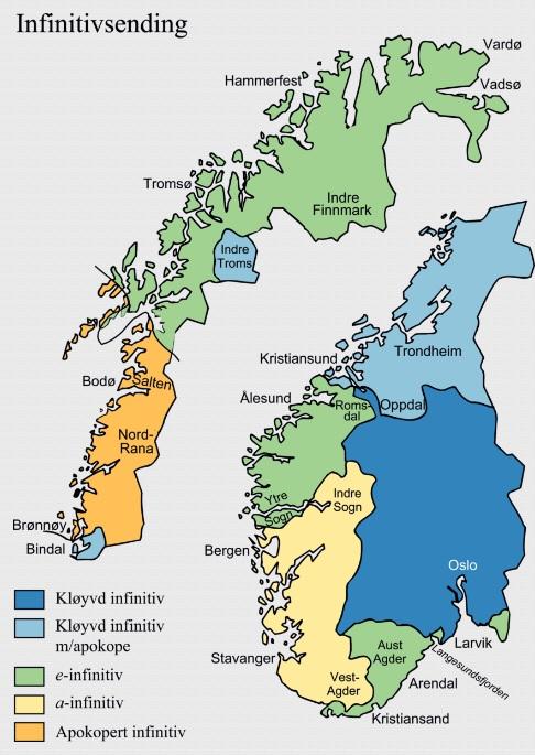 norske dialekter Sortland
