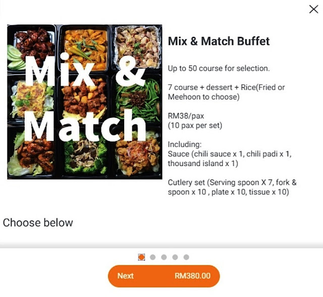 Mini Buffet - Mix & Match