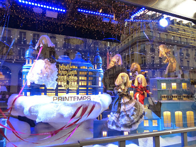 Paris illuminations et vitrines de Noël en 2014