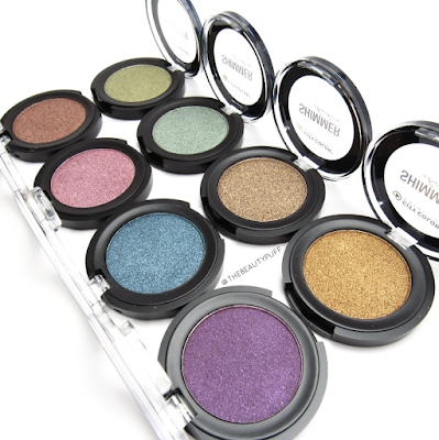 city color cosmetics shimmer shadows - the beauty puff