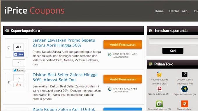 Mudahnya Belanja Online Dengan iPrice Coupons