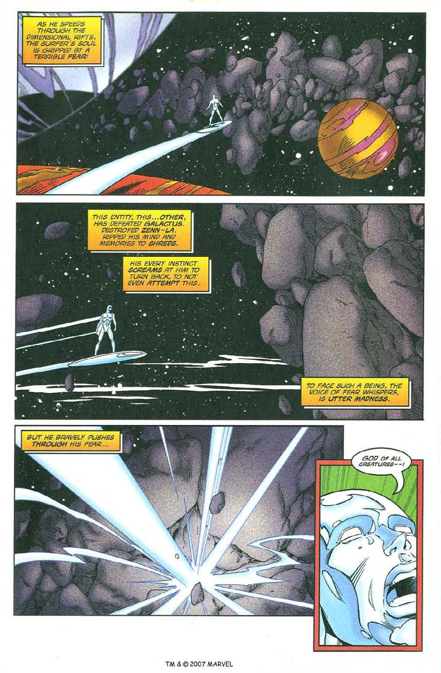Read online Silver Surfer (1987) comic -  Issue #134 - 27