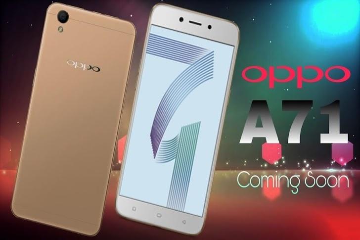 Diusung dengan Spek Gahar & Murmer, inilah Harga dan Spesifikasi Lengkap Oppo A71 Terbaru 2018!