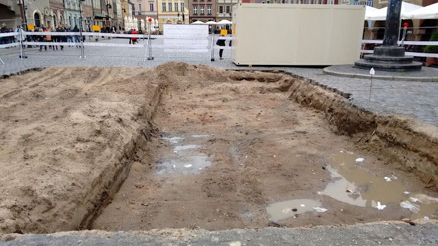 Wykopaliska archeologiczne na Starym Rynku w Poznaniu