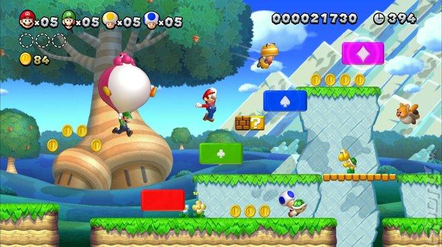 Triple Jump Clear Rank: New Super Mario Bros U ] | [ The