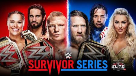 Poster Of WWE Survivor Series PPV 2018 HDTV 480P 300MB