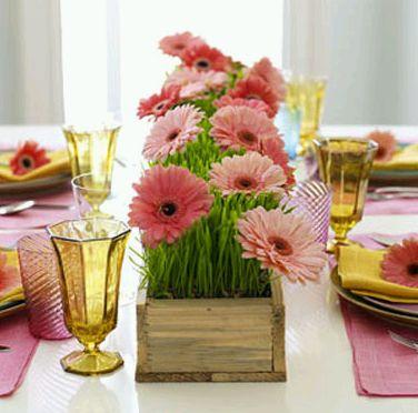 centros de mesa y arreglos florales para el da de la madre