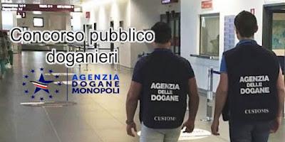 Concorso pubblico doganieri (scrivisullapaginadeituoisogni.blogspot.it)