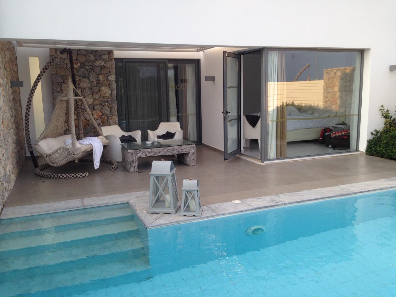 VisualVest Hotelsuite mit Pool auf Kos, Griechenland