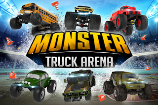 Game Monster Truck Arena Driver App