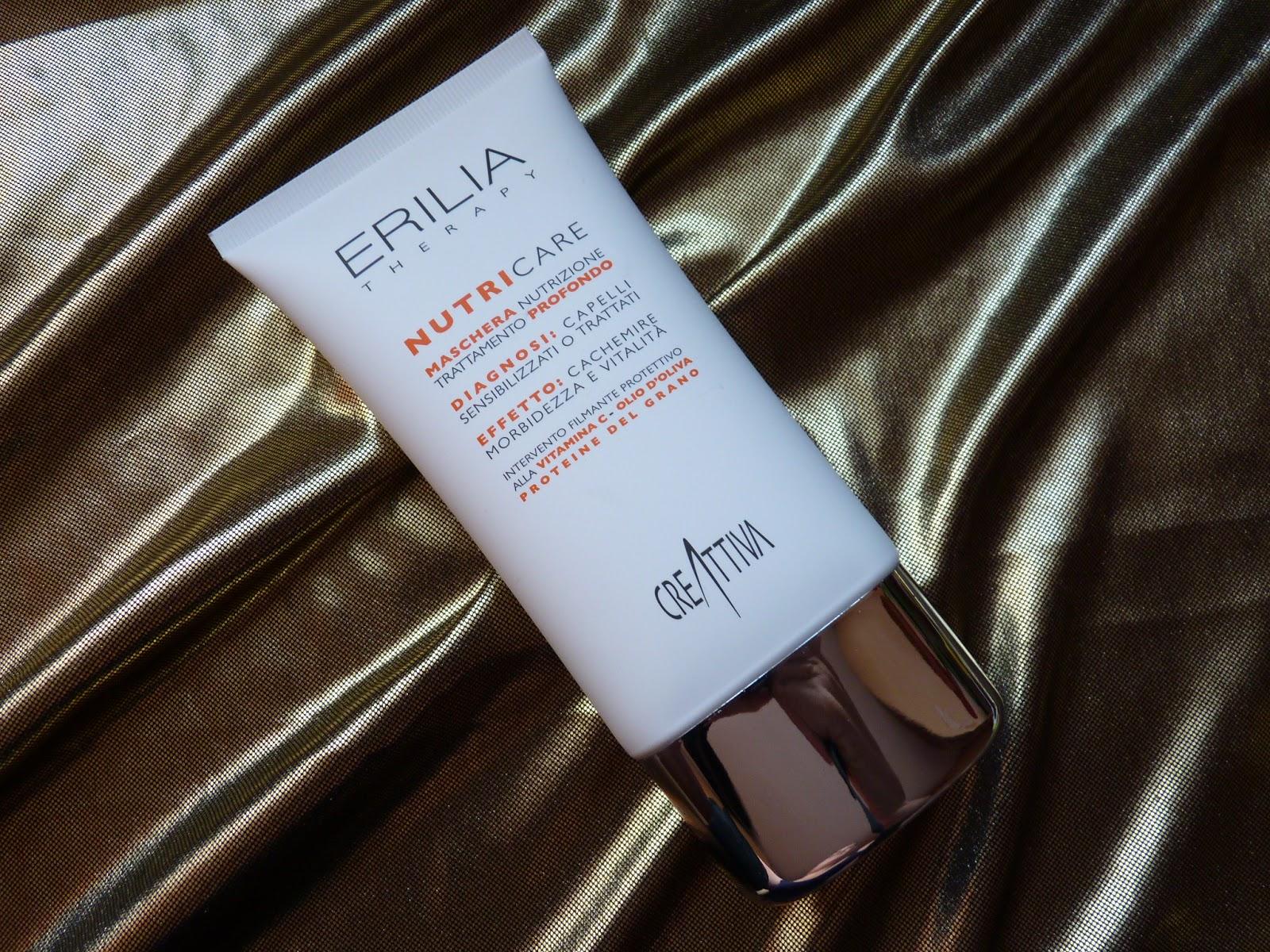 Erilia Nutri Care – odżywka dla włosów uwrażliwionych zabiegami fryzjerskimi