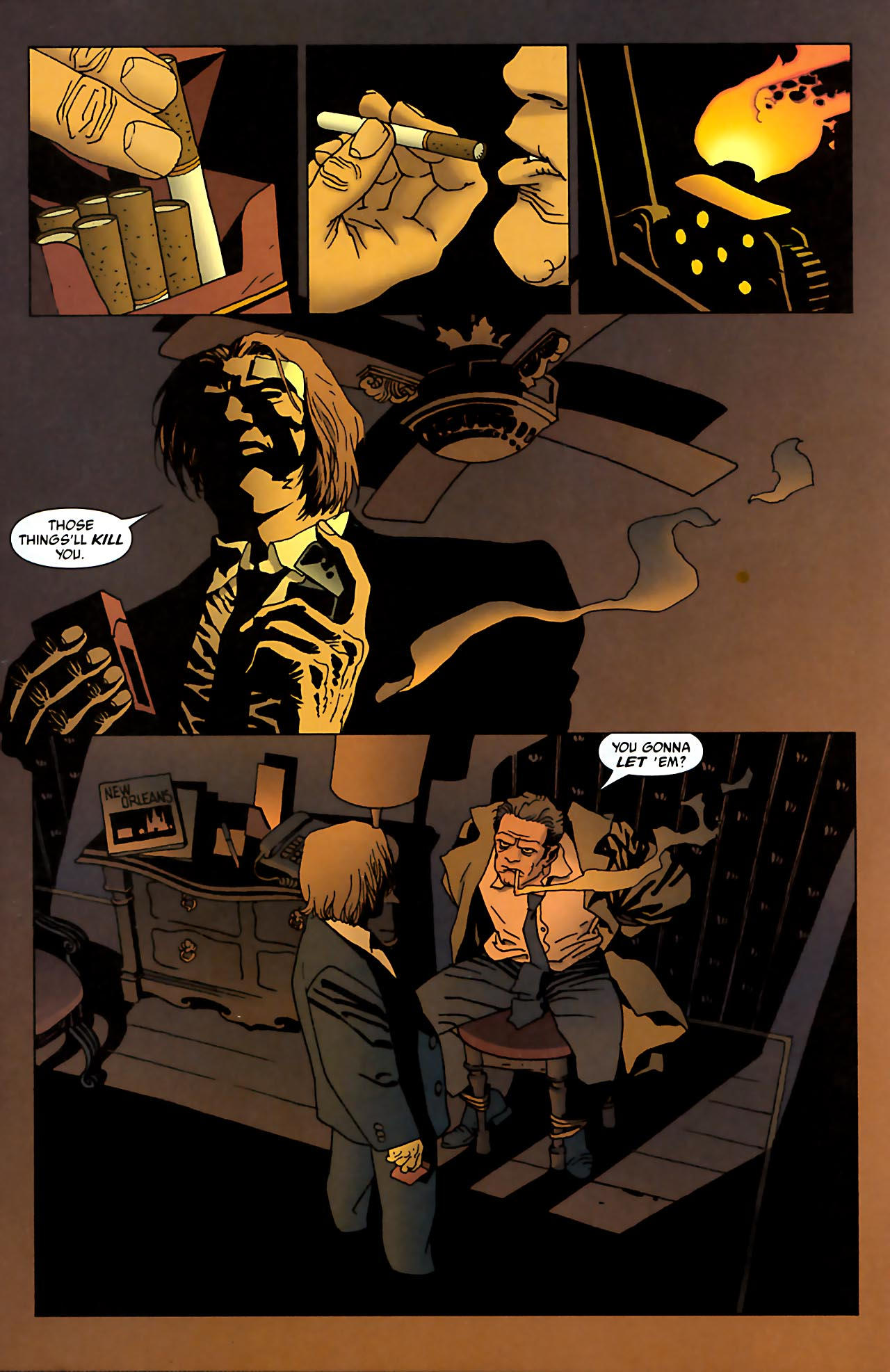 Read online 100 Bullets comic -  Issue #52 - 2