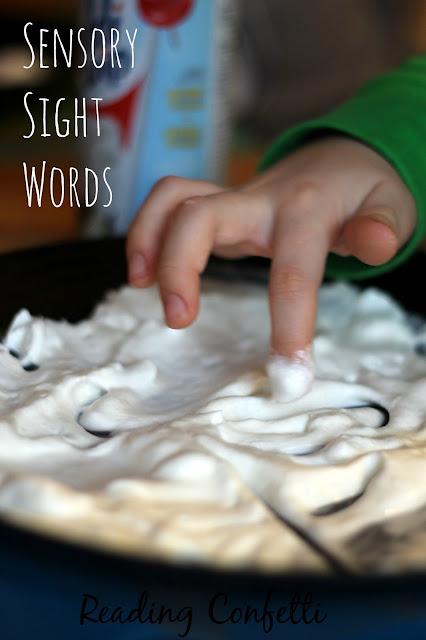 http://www.readingconfetti.com/2015/01/sensory-sight-words-whipped-cream.html