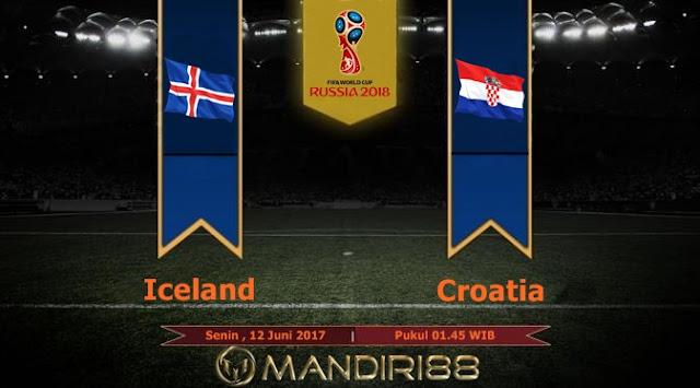 Prediksi Bola : Iceland Vs Croatia , Minggu 12 Juni 2017 Pukul 01.45 WIB
