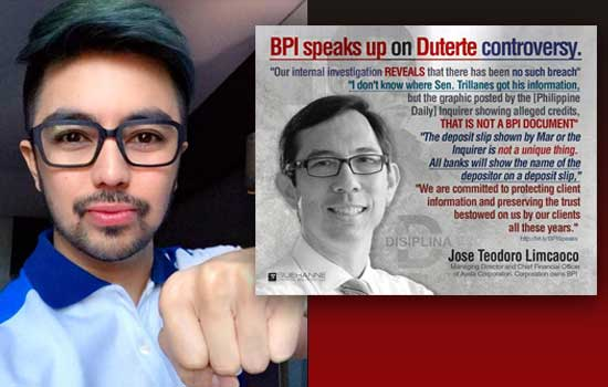 An Open Letter to all 'BPI Depositors' by Dr. Nol Montalbo