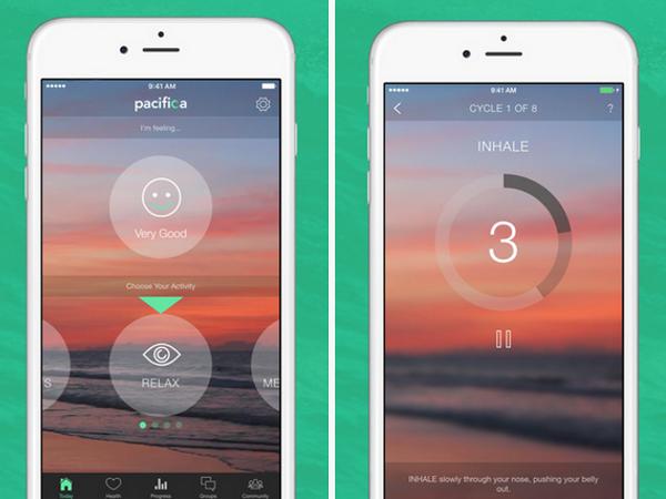 App Pacífica para el estrés y la ansiedad