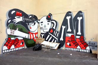 Sunday Street Art : Amaia Arrazola - rue Sainte-Marthe - Paris 10