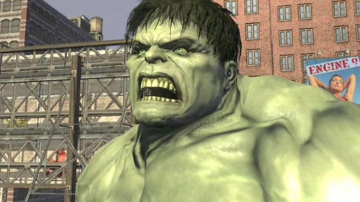 The Incredible Hulk Game | GAMES AND SOFTWARE OF PC