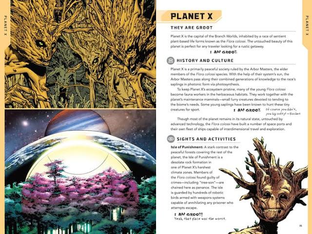 Marvel Comos Planeta X