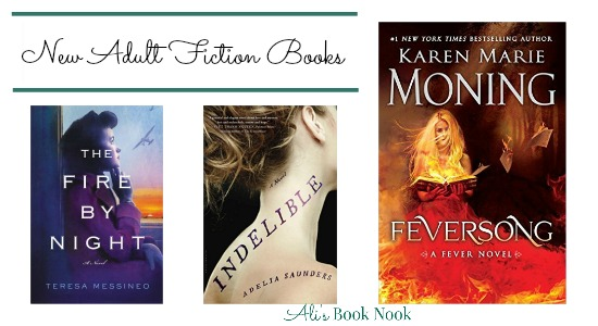 fantasy, historical fiction and sci-fi new adult books