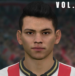 PES 2017 Faces Hirving Lozano by Sameh Momen