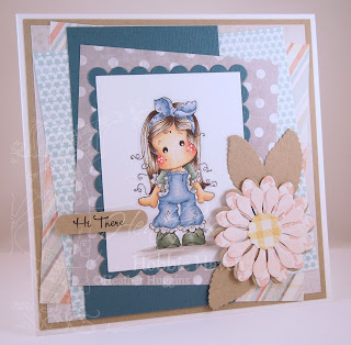 Heather's Hobbie Haven - Tilda with Lace Pants Card Kit