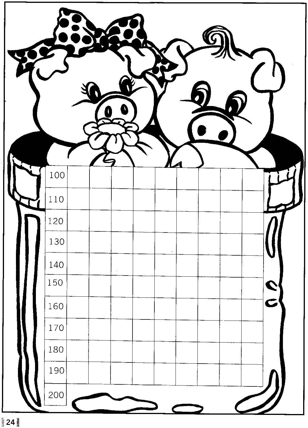 Marlarte: Sequência numérica... 100, 200 e 300.