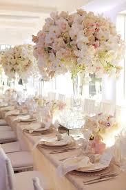 Floral Wedding Table Decorations
