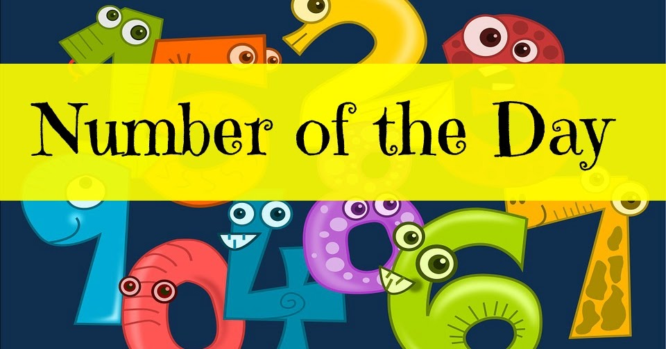 Number of the Day ~ TJ Homeschooling