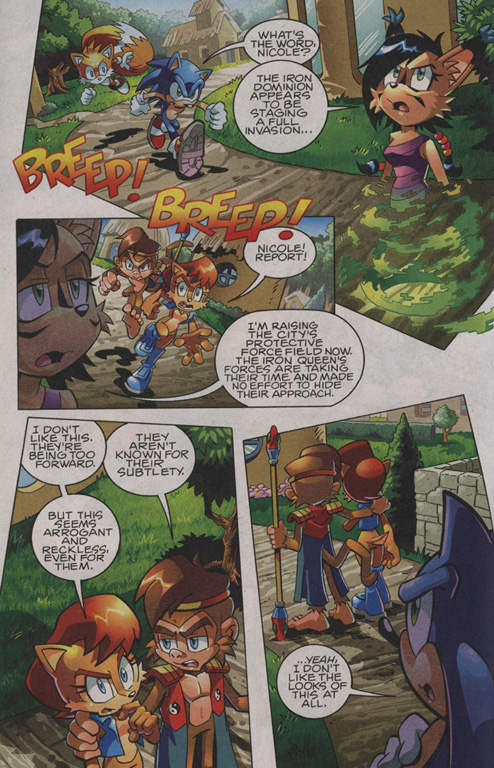 Read online Sonic The Hedgehog comic -  Issue #208 - 5