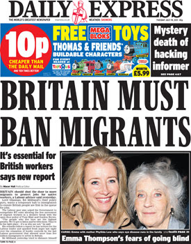 the daily mail racist headlines for dating