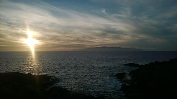 Atardecer Tenerife Playa Paraíso