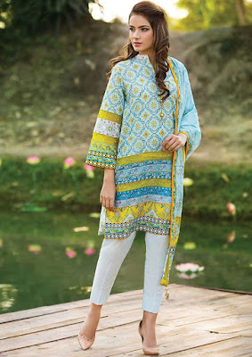 Alkaram-summer-printed-lawn-dresses-collection-for-girls-9