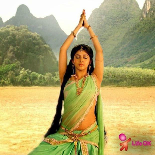 Hindi Serial Actress Sonarika Bhadoria Hot Navel Pics In
