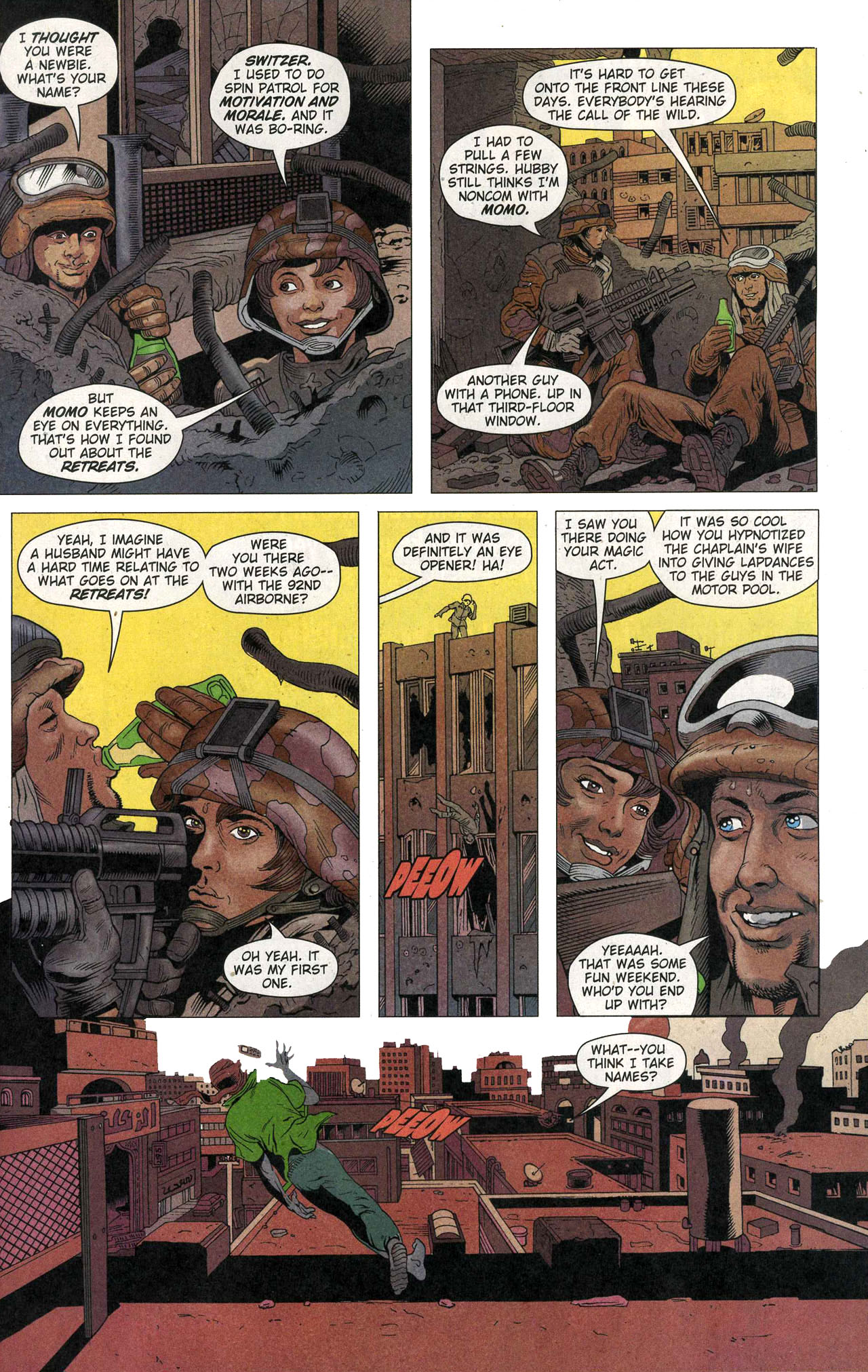 Read online Army @ Love comic -  Issue #1 - 7