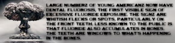 Masyarakat Amerika dan di seluruh dunia sudah banyak dirugikan oleh fluoride