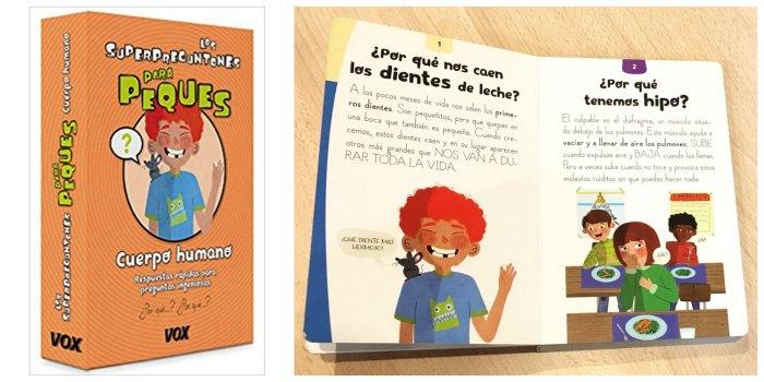 libros infantiles, materiales, actividades manualidades aprender cuerpo humano superpreguntones peques