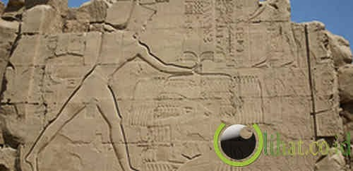 Hieroglif Firaun Thutmose III (Mesir – 1.300 SM)