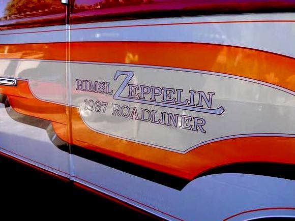 The Flying Tortoise: Art Himsl's 1937 Chris Craft Zeppelin Roadliner