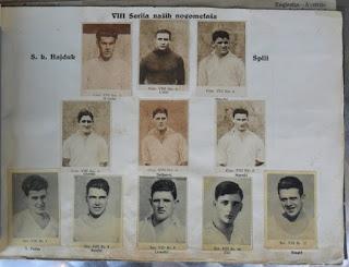 Hajduk Split album sličice Sve Sport 1931/32