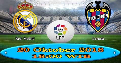 Prediksi Bola855 Real Madrid vs Levante 20 Oktober 2018