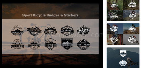 Download Badges & Stickers Logos Template Free