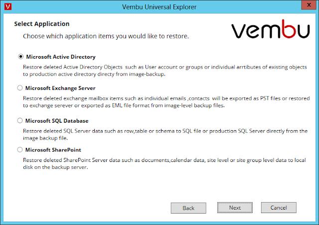 Vembu: Universal Explorer