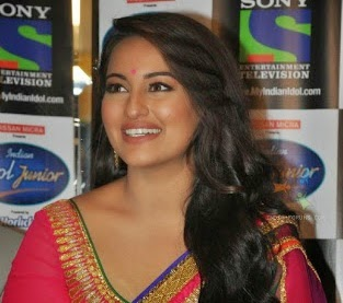 Sonakshi Dinha, Sonakshi sinha on tv, sonakshi in indian idol junior 2, sony entertainment tv